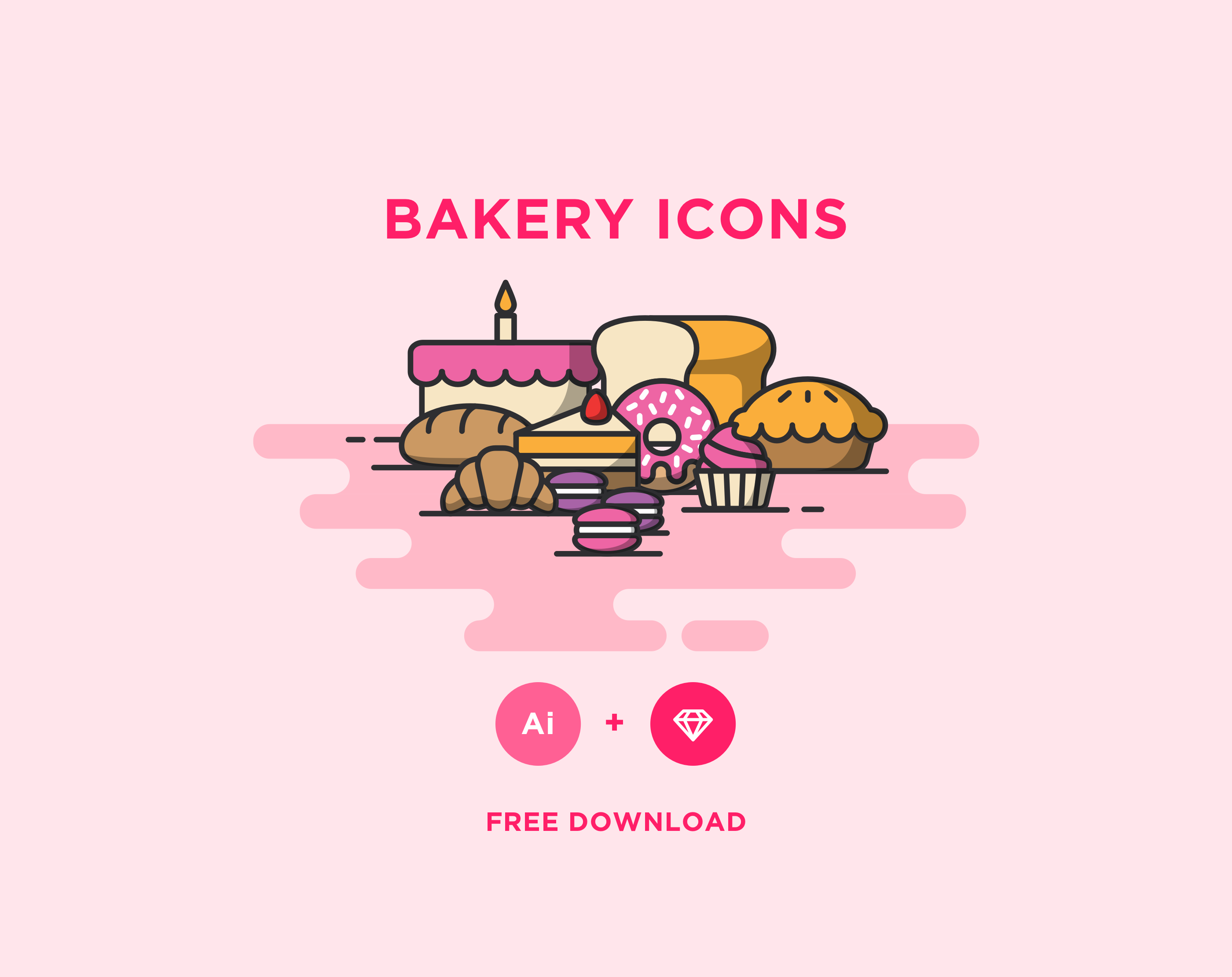 Free Bakery Icons